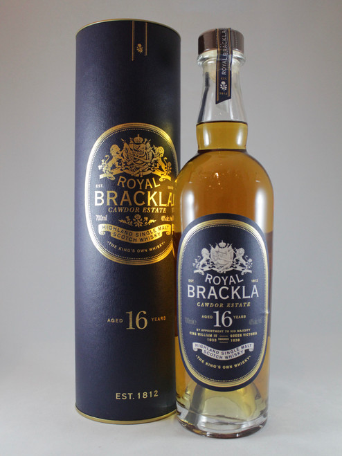Royal Brackla, 16 Year Old, Highland Single Malt Scotch Whisky
