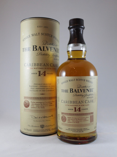 The Balvenie, Caribbean Cask, Aged 14 Years, Speyside Single Malt Scotch Whisky