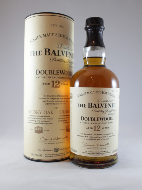 The Balvenie, DoubleWood, Aged 12 Years, Speyside Single Malt Scotch Whisky
