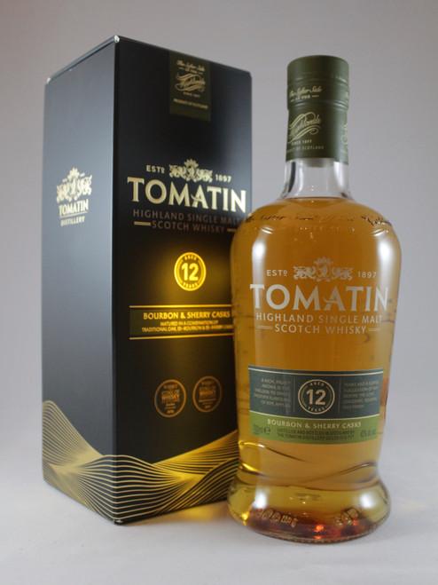 Tomatin, Aged 12 Years,  Bourbon & Sherry Casks, Highland Single Malt Scotch Whisky