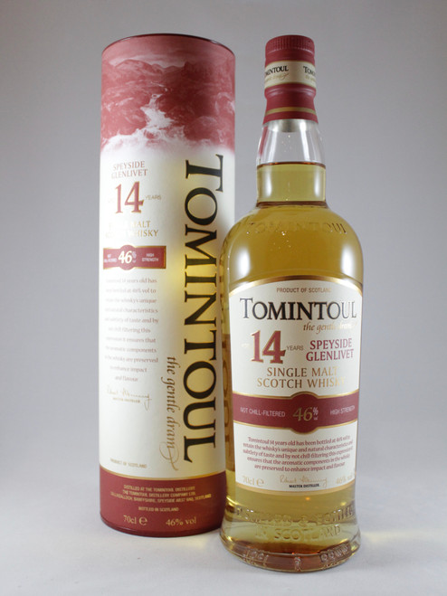 Tomintoul, 14 Year old, Speyside Single Malt Scotch Whisky
