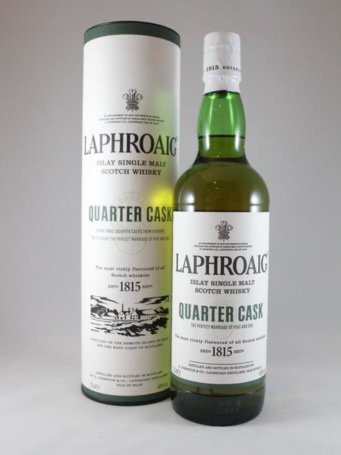 Laphroaig, Quarter Cask, Islay Single Malt Scotch Whisky, 70cl at 48% alc./vol.  www.maltsandspirits.com/