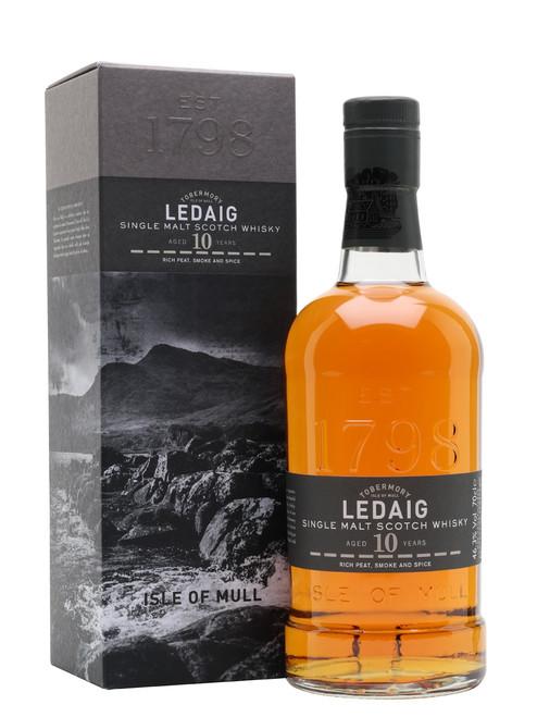 Ledaig Aged 10 Years, Single Malt Scotch Whisky
