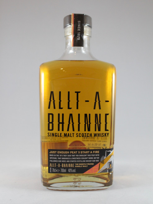 Allt-A-Bhainne, Single Malt Scotch Whisky,  70cl at 40% alc./vol.  www.maltsandspirits.com/