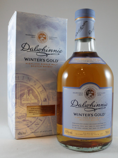 Dalwhinnie, Winters Gold, Highland Single Malt Scotch Whisky