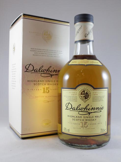 Dalwhinnie, 15 Years Old, Highland Single Malt Scotch Whisky