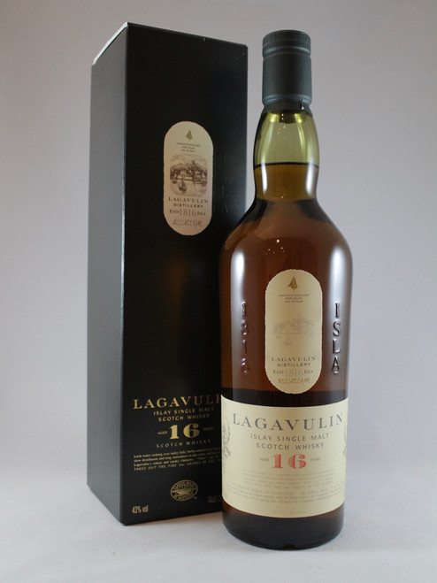 Lagavulin, Aged 16 Years, Islay Single Malt Scotch Whisky