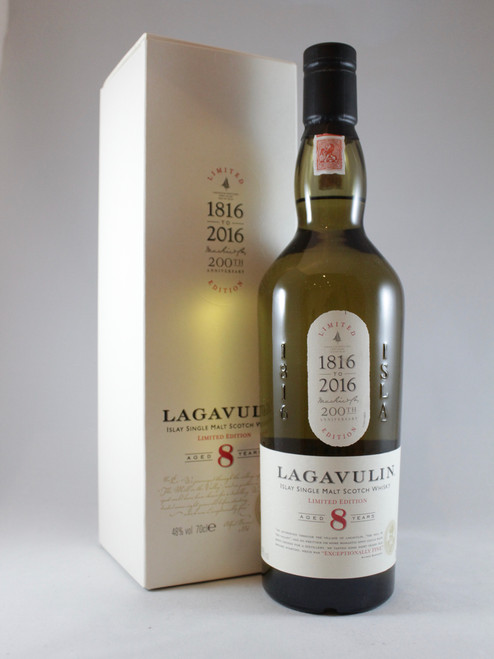 Lagavulin, Aged 8 Years, 200th Anniversary Edition, Limited Edition, Islay Single Malt Scotch Whisky