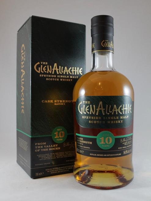 The Glenallachie, Aged 10 Years, Cask Strength, Speyside Single Malt Scotch Whisky, Batch 2, 700ml at 54.8% alc./vol,   www.maltsandspirits.com/
