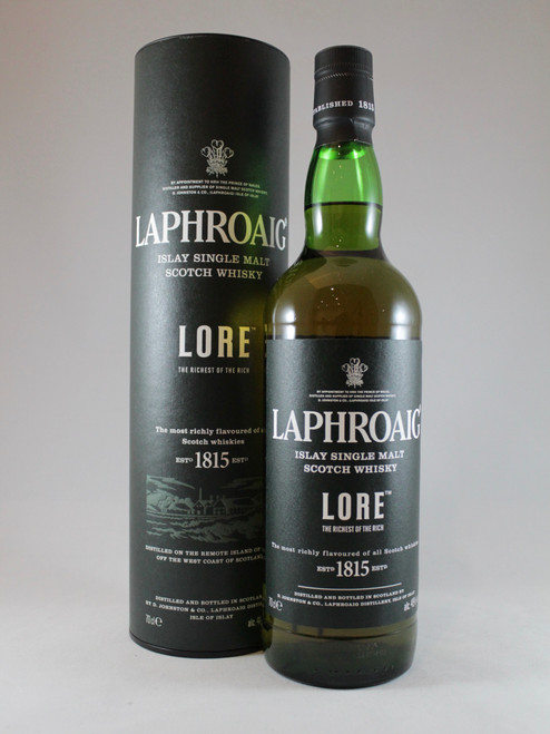 Laphroaig, Lore, Islay Single Malt Scotch Whisky