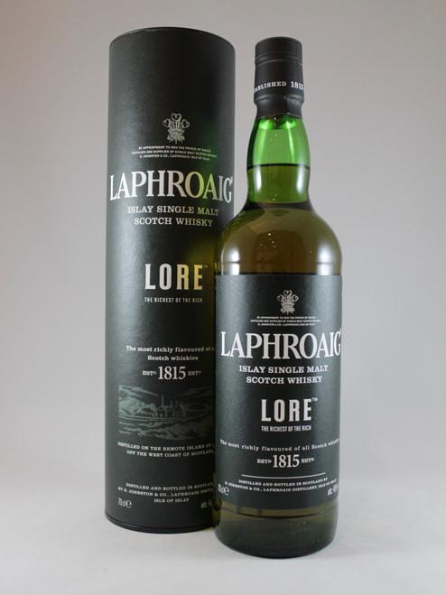 Laphroaig, Lore, Islay Single Malt Scotch Whisky