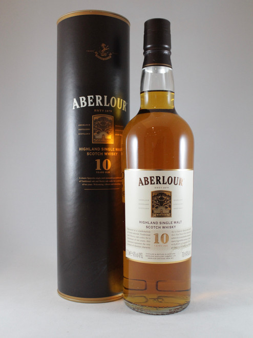 Aberlour, 10 Years Old,  Highland Single Malt Scotch Whisky, 70cl at 40% alc./vol. www.maltsandspirits.com/