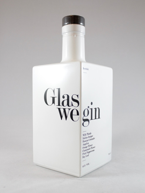 Glaswegin Gin, Scottish Gin, 70cl at 41.1% alc/vol. www.maltsandspirits.com/