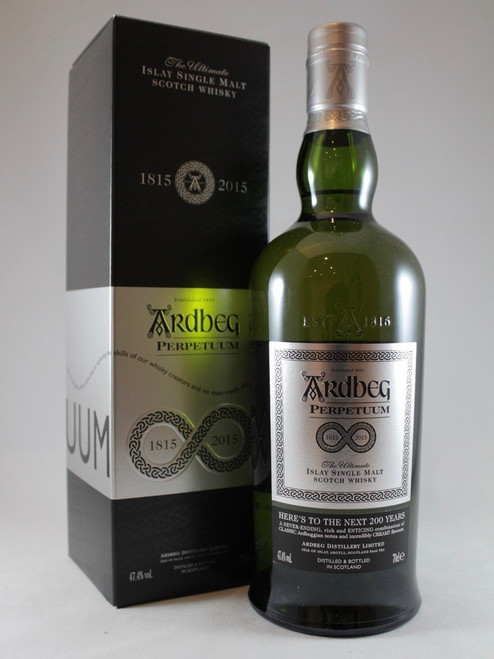 Ardbeg Perpetuum 2015 Release, Islay Single Malt Scotch Whisky,70cl at 47.4% alc./vol, Non chill-filtered   www.maltsandspirits.com/ardbeg-perpetuum