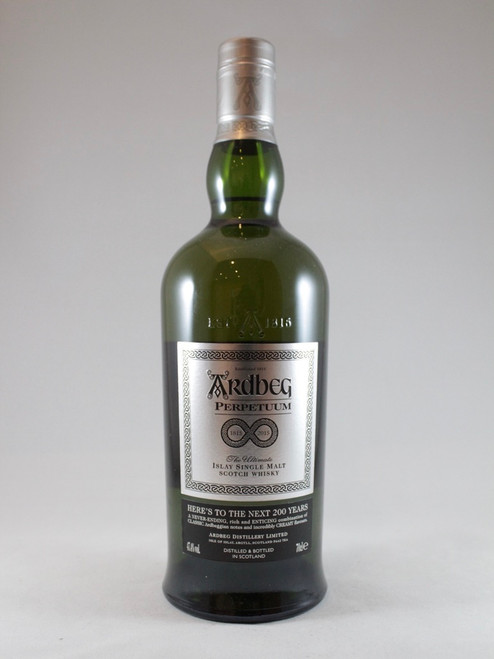 Ardbeg Perpetuum 2015 Release, Islay Single Malt Scotch Whisky,70cl at 47.4% alc./vol, Non chill-filtered, No Box.  https://www.maltsandspirits.com/