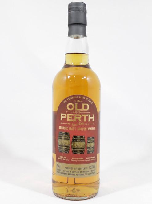 Old Perth, Sherry Cask, Blended Malt Scotch Whisky, 70cl at 43% Vol. www.maltsandspirits.com
