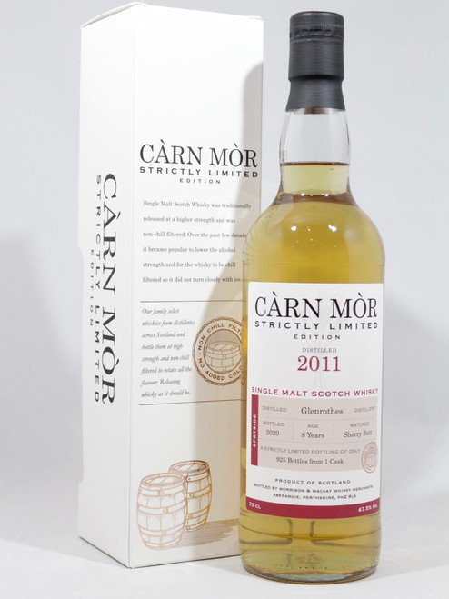 Glenrothes 2011, 8 Year Old, Sherry Butt, Càrn Mòr Strictly Limited