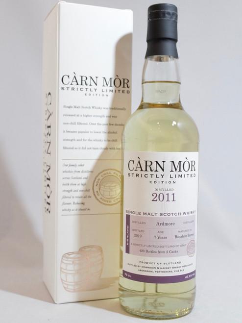 Ardmore, 7 Year Old,  (2011) Bourbon Barrel, Càrn Mòr Strictly Limited