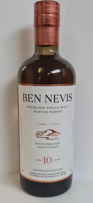Ben Nevis Aged 10 Years, Single Malt Scotch Whisky