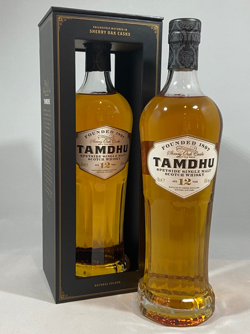 Tamdhu, Aged 12 Years, Matured Exclusively in Sherry Casks, Speyside Single Malt Scotch Whisky