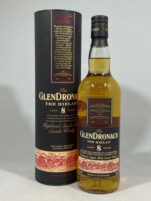 The GlenDronach, The Hielan, 8 Year Old, Highland Single Malt Scotch Whisky, 70cl at 46% Vol. https://www.maltsandspirits.com/glendronach-hielan-8