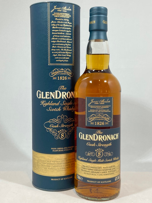 The GlenDronach Cask Strength Batch 8 , Highland Single Malt Scotch Whisky