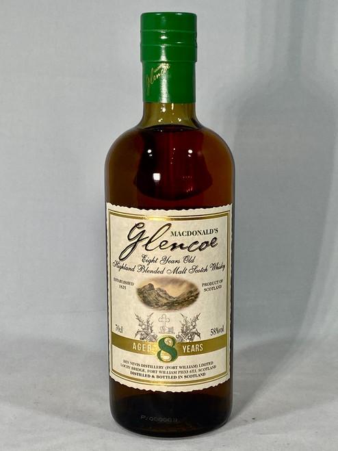 Glencoe Aged 8 Years, Highland Blended Malt Scotch Whisky, 70cl at 58% alc./vol. www.maltsandspirits.com/glencoe-8