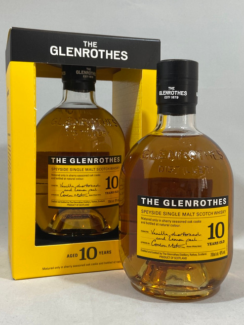 The Glenrothes 10 Years Old,  Speyside Single Malt Scotch Whisky