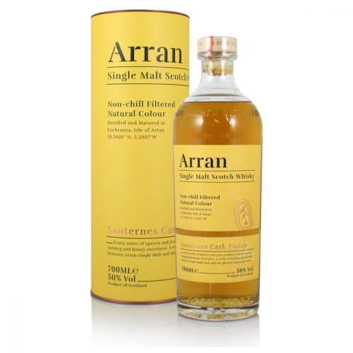 Arran Sauternes Cask Finish, Single Malt Scotch Whisky
