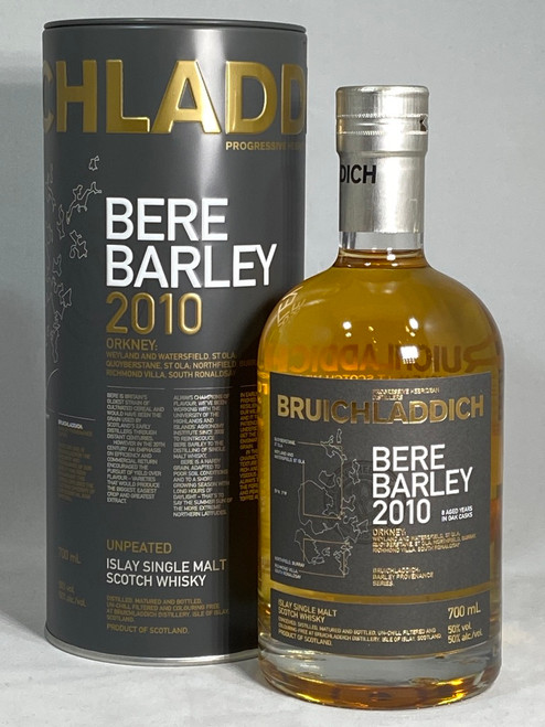 Bruichladdich Bere Barley 2010, Islay Single Malt Scotch Whisky