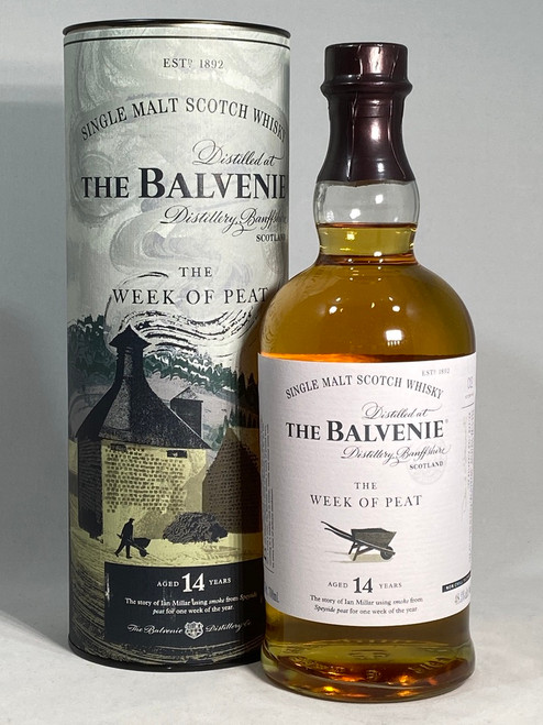 The Balvenie,  The Week Of Peat, 14 Year Old, Speyside Single Malt Scotch Whisky