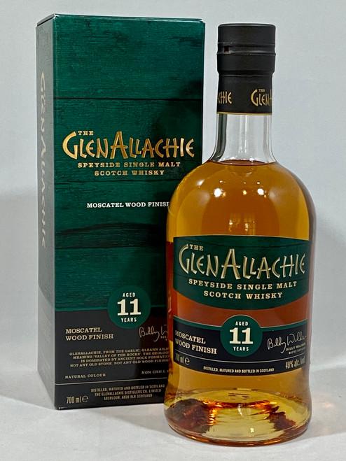 The Glenallachie, Aged 11 Years, Moscatel Wood Finish, Speyside Single Malt Scotch Whisky  700ml at 48% alc./vol.  www.maltsandspirits.com/the-glenallachie-11-moscatel-wood-finish