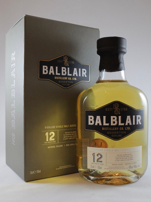 Balblair 12 Year Old, Highland Single Malt Scotch Whisky