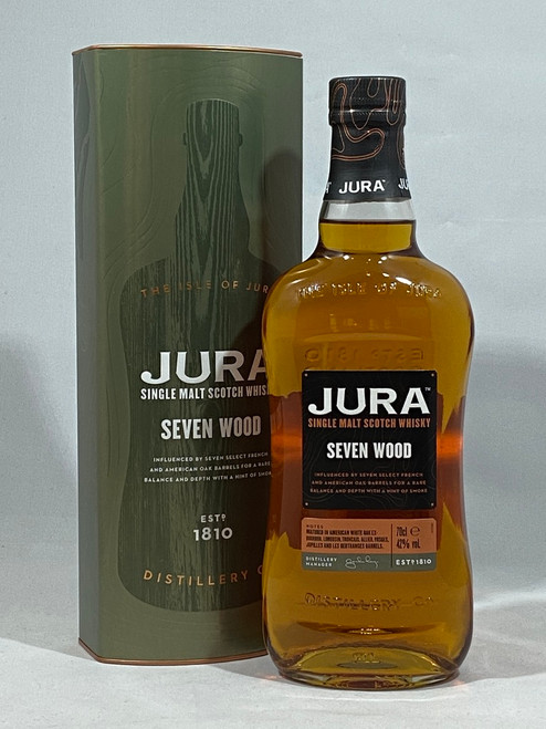 Jura Seven Wood, Single Malt Scotch Whisky