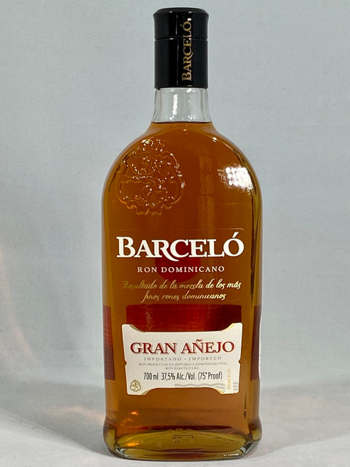 Barcelo Gran Anejo Rum,  Golden Rum, 700ml at 37.5% alc/vol. www.maltsandspirits.com/barcelo-gran-anejo-rum