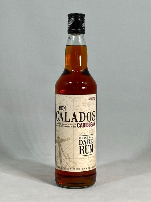 Ron Calados Dark Rum, distilled and blended in the Caribbean , 70cl at 37.5% alc/vol. www.maltsandspirits.com/ron-calados-dark-rum