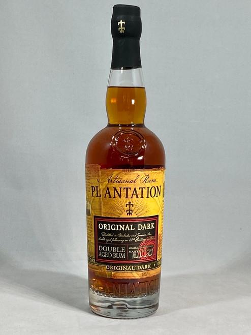 Plantation Original Dark Rum, Caribbean Rum, 70cl at 40% alc/vol. www.maltsandspirits.com/plantation-original-dark-rum