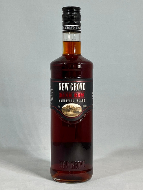New Grove Dark Rum, Produce of Mauritius, 70cl at 37.5% alc/vol.  www.maltsandspirits.com/new-grove-dark-rum