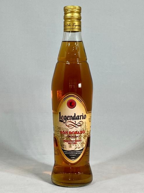 Legendario Ron Dorado Rum, Cuban Rum, 70cl at 38% alc/vol. www.maltsandspirits.com/legendario-dorado-rum