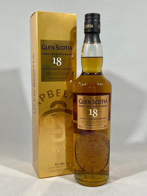 Glen Scotia 18 Year Old, Campbeltown Single Malt Scotch Whisky