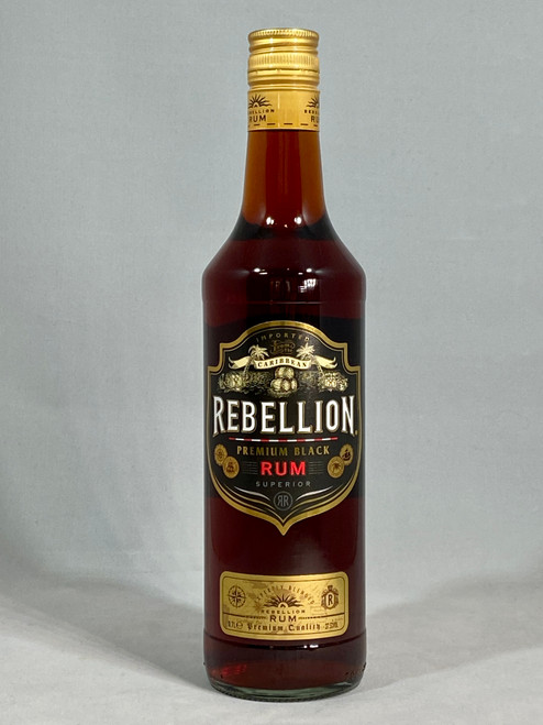 Rebellion Premium Black Rum, Caribbean Rum, 70cl at 37.5% alc/vol. www.maltsandspirits.com/rebellion-black-rum