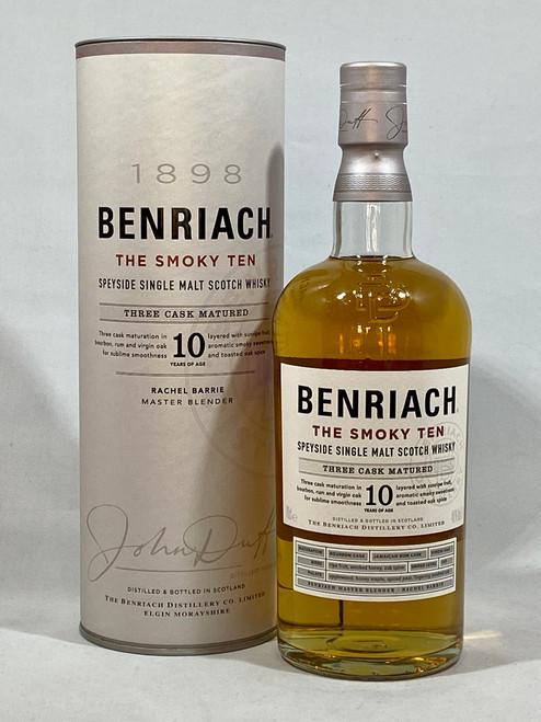 Benriach The Smoky Ten, Speyside Single Malt Scotch Whisky