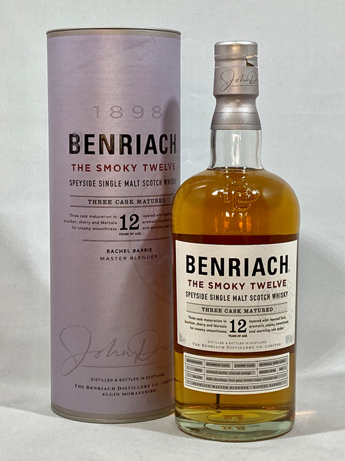 Benriach The Smoky Twelve, Speyside Single Malt Scotch Whisky