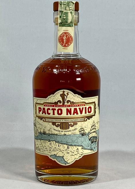 Pacto Navio Rum, French Sauternes Finish, Cuban Rum, 70cl at 40% alc/vol. www.maltsandspirits.com/pacto-navio-rum