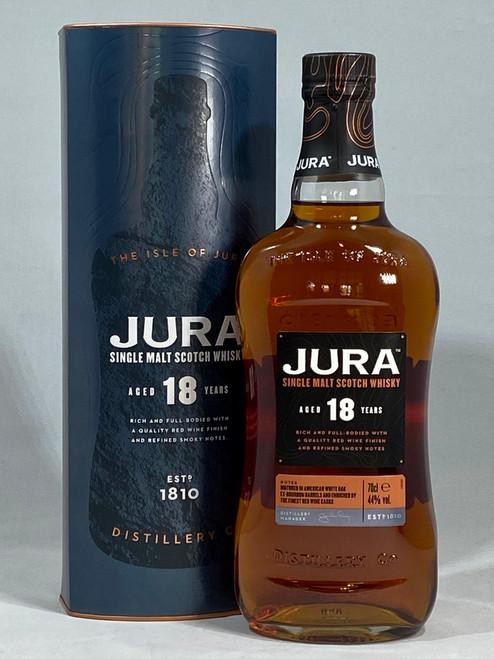 Jura 18 Year Old, Single Malt Scotch Whisky, 70cl at 44% alc./vol.