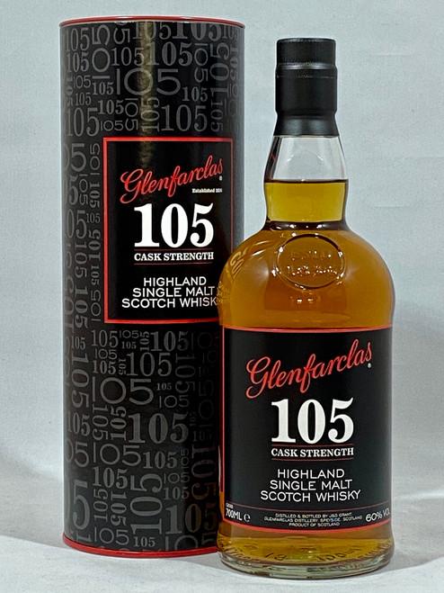 Glenfarclas 105 Cask Strength, Highland Single Malt Scotch Whisky,  70cl at 60% alc./vol.