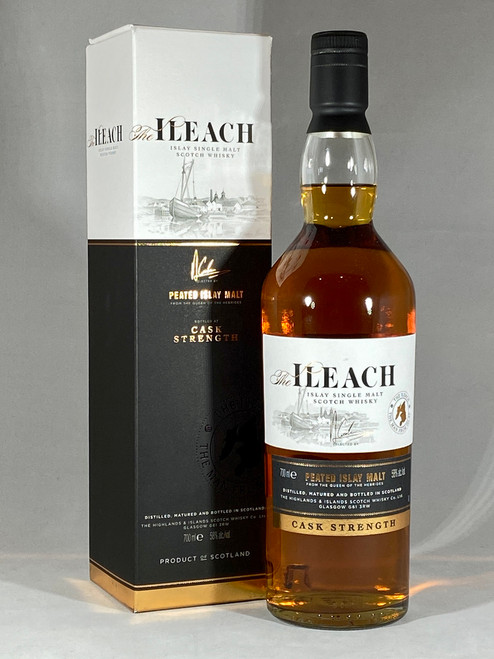 The Ileach Cask Strength, Peated Islay Malt, Islay Single Malt Scotch Whisky,