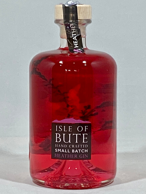 Isle of Bute Gorse Gin, Small Batch Scottish Pink Gin,
