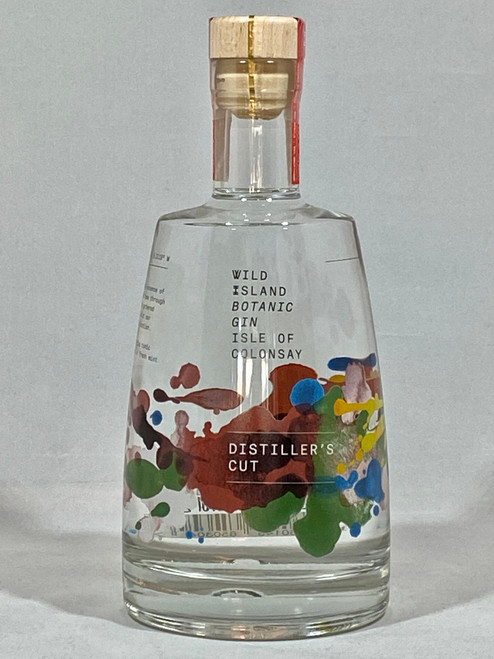 Wild Island Distillers Cut Colonsay Gin, Scottish Gin,