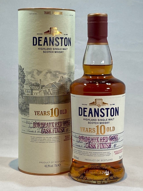 Deanston 10 year Old Bordeaux Red Wine Cask Finish